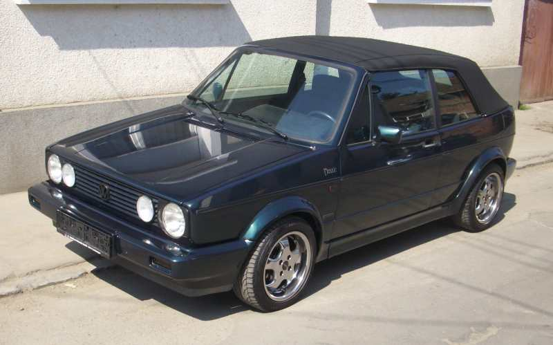 Vw Golf Cabrio Karmann